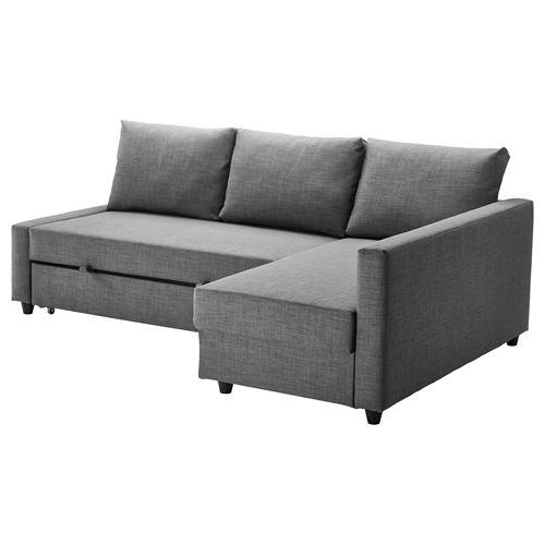 Sofabett ikea  FRIHETEN bazalı yataklı köşe kanepe skiftebo koyu gri | IKEA ...