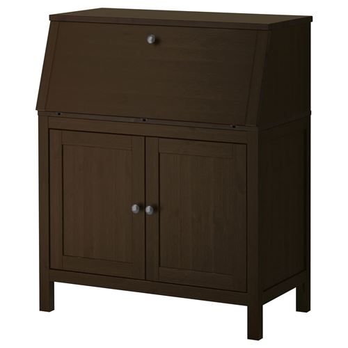 Hemnes desk blackbrown 89x107 cm ikea ikea for your business for Hover tr table
