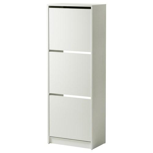 Bissa ayakkab dolab beyaz 49x28x135 cm ikea antreler - Ikea armario zapatero ...