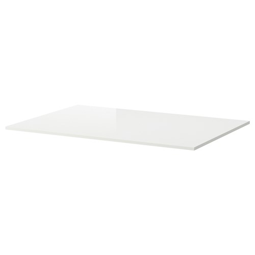 Torsby Table Top High Gloss White 135x85 Cm Ikea Dining Room