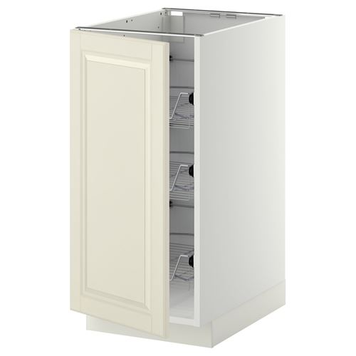 METOD,base cabinet with doors