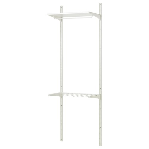 ALGOT,shelving unit with trouser hanger