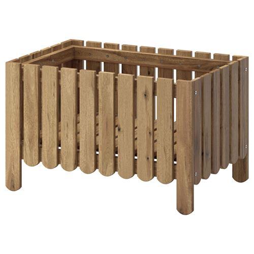 Ikea askholmen  ASKHOLMEN çiçeklik gri-kahverengi | IKEA Ev Dekorasyonu