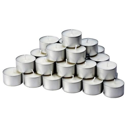 glimma tealight mum gri beyaz 3 8 cm ikea ev dekorasyonu. Black Bedroom Furniture Sets. Home Design Ideas