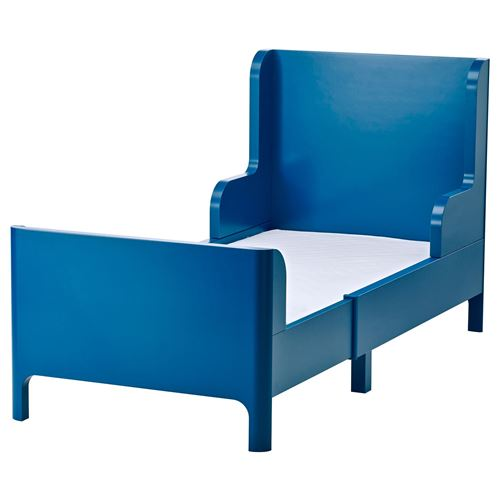 busunge uzayabilen ocuk karyolas mavi 80x200 cm ikea ikea ocuk. Black Bedroom Furniture Sets. Home Design Ideas