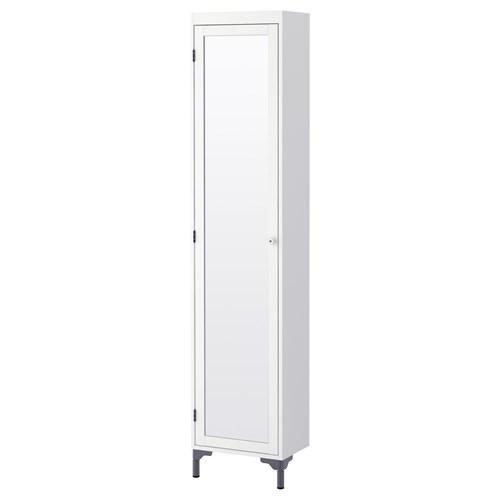 silveran y ksek banyo dolab beyaz 40x25x184 cm ikea banyolar. Black Bedroom Furniture Sets. Home Design Ideas