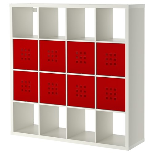KALLAX/LEKMAN,shelving unit with 16 compartments