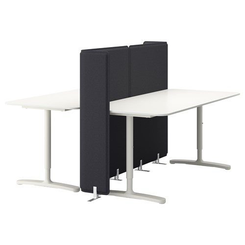 BEKANT,desk with screen