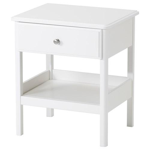 TYSSEDAL komodin beyaz 51x40 cm | IKEA Yatak Odaları
