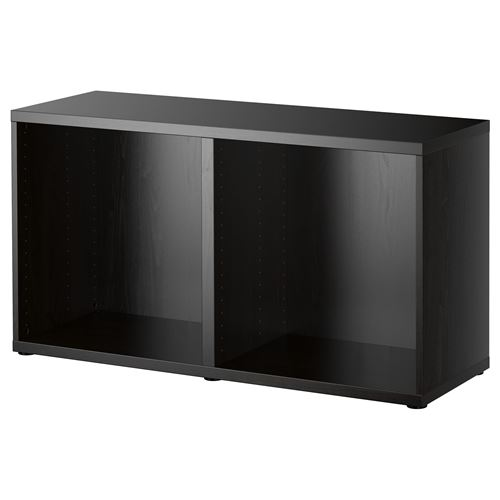 besta frame blackbrown 120x40x64 cm ikea tv and media. Black Bedroom Furniture Sets. Home Design Ideas
