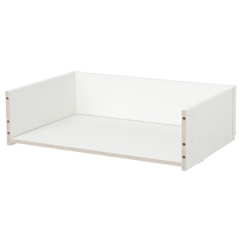 BESTA pull-out frame white 60x15x40 cm | IKEA TV and Media Furniture
