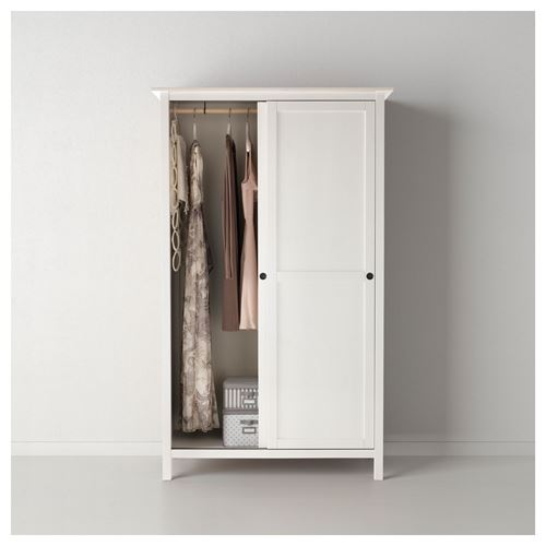 HEMNES,sliding door-wardrobe