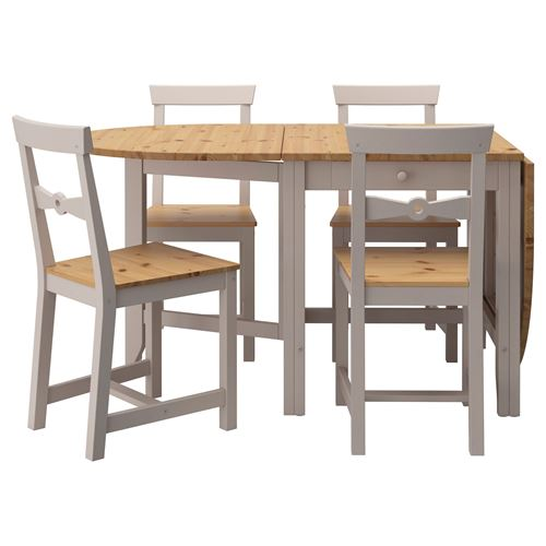 GAMLEBY,table+4 folding chairs