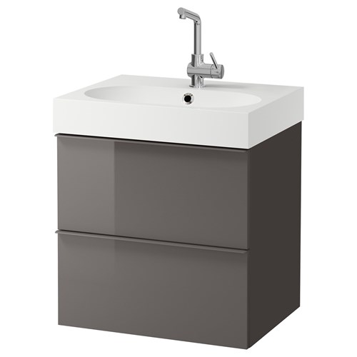 Wash basin and cabinet bathroom storage race