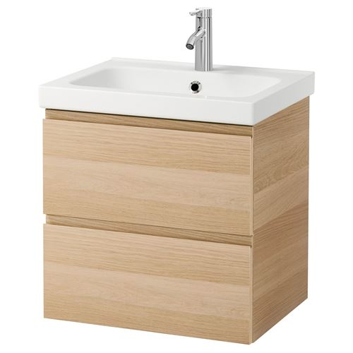 GODMORGON/ODENSVIK,wash-basin and cabinet