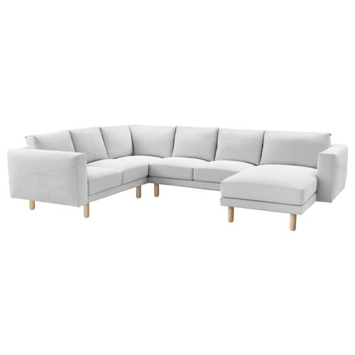 NORSBORG,cover for corner sofa with chaise lounges, 5-seat