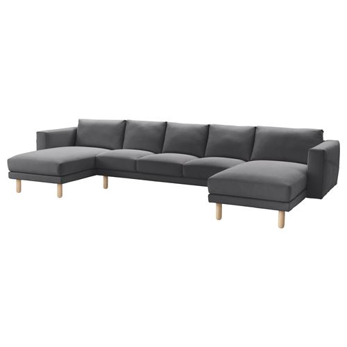 NORSBORG,cover 3-seat sofa+2 chaise longues