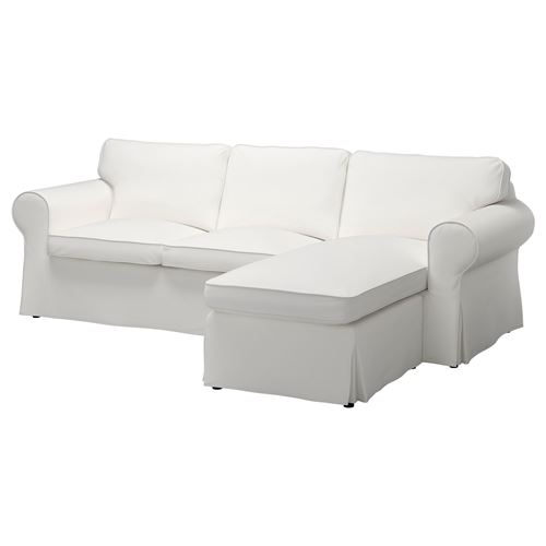 EKTORP,2-seat sofa and chaise longue