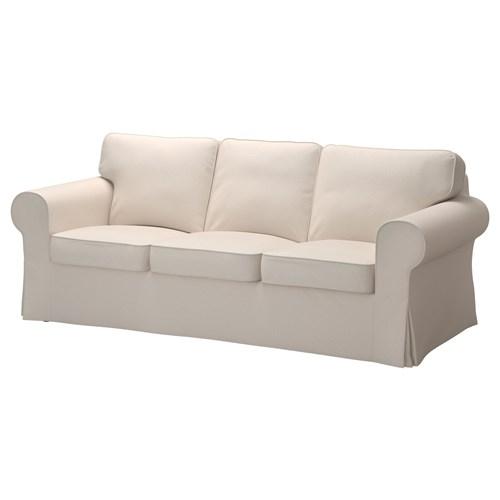 Recamiere ikea  EKTORP 3'lü kanepe lofallet bej | IKEA Oturma Odaları