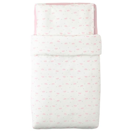 HIMMELSK,quilt cover/pillowcase for cot