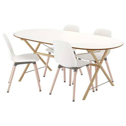 SLAHULT/LEIFARNE,dining table and chairs