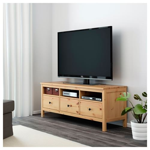 HEMNES Tv Bench Light Brown 149x47 Cm | IKEA TV And Media Furniture