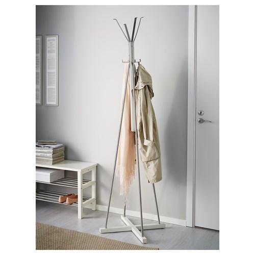 Tjusig Ayaklı Askılık Beyaz 45x191 Cm Ikea Ev D 252 Zenleme