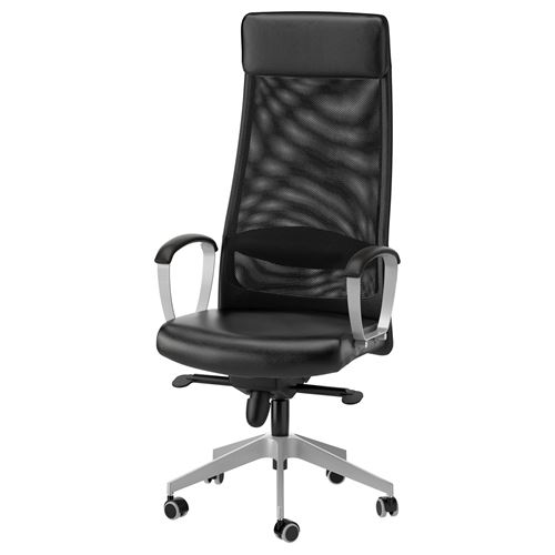 MARKUS,swivel chair with armrests