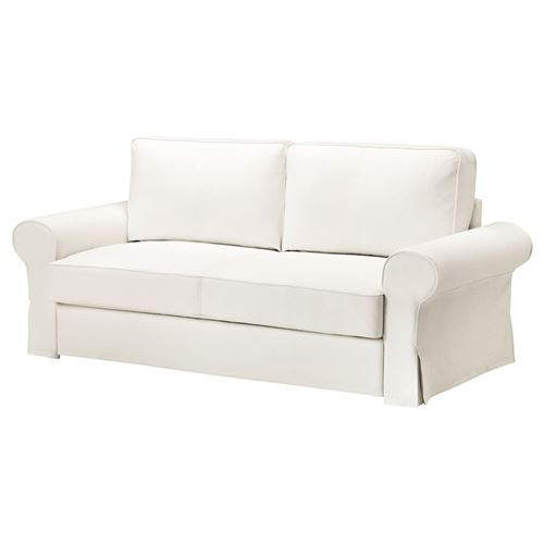 backabro marieby 3 39 l yatakl kanepe hylte beyaz ikea oturma odalar. Black Bedroom Furniture Sets. Home Design Ideas