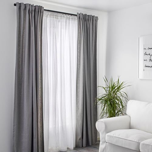 MATILDA,sheer curtains, 1 pair