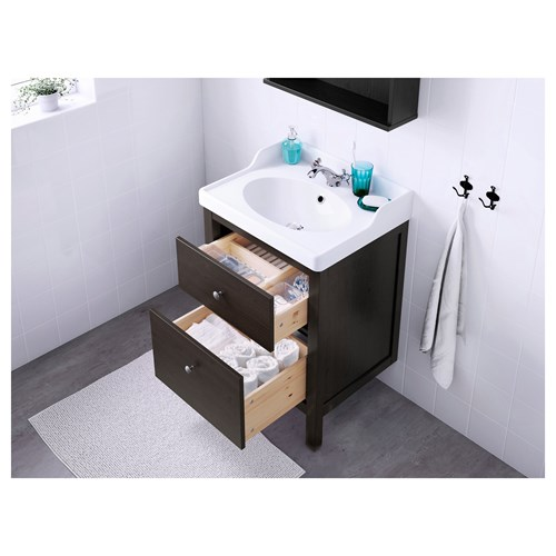 HEMNES/RATTVIKEN,wash-basin and cabinet