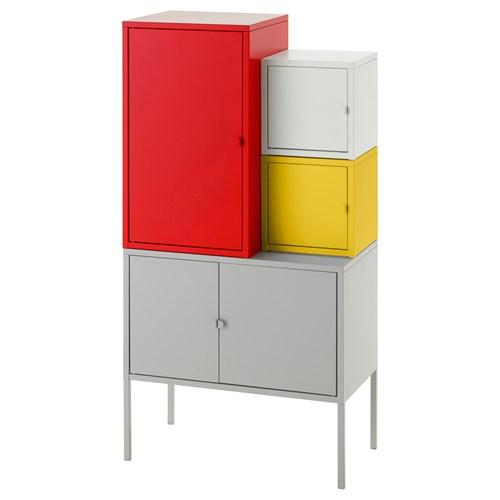 Lixhult Cabinet: LIXHULT Cabinet Multicolour 60x117 Cm