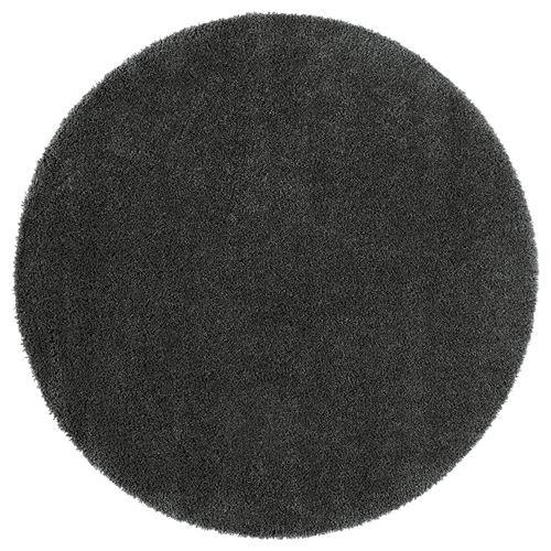 Adum Rug Dark Grey 130 Cm Ikea Home Textile