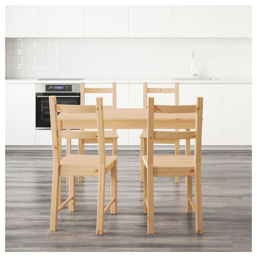 INGO/IVAR,dining table and chairs