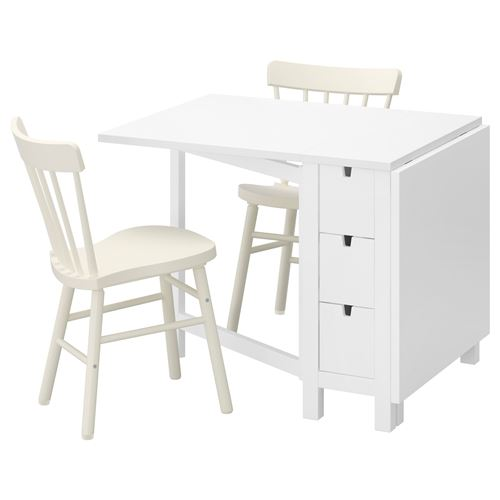 norden norraryd dining table and chairs white white 89 cm ikea ikea for your business. Black Bedroom Furniture Sets. Home Design Ideas