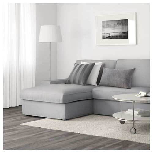 KIVIK,2-seat sofa and chaise longue
