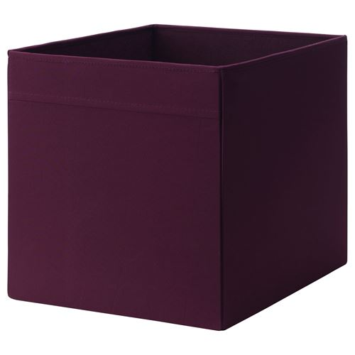 dr na kutu k rm z lila 33x38x33 cm ikea ikea ocuk. Black Bedroom Furniture Sets. Home Design Ideas