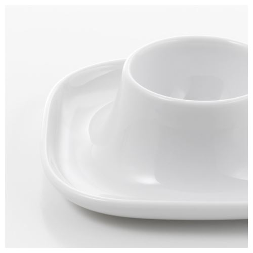 Vardera Egg Cup White 10x10 Cm Ikea Tableware