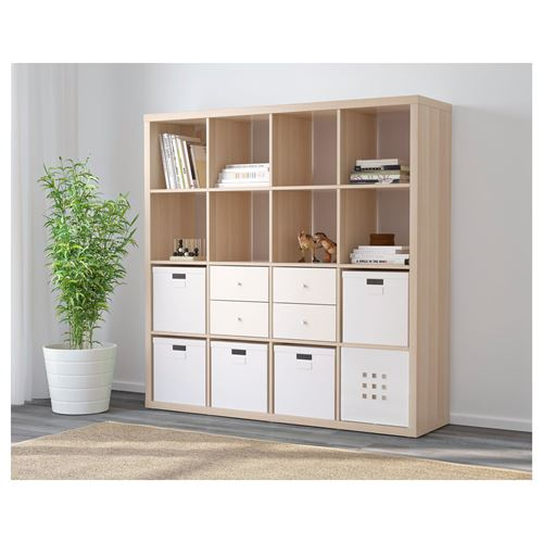 KALLAX,shelving unit with 16 compartments