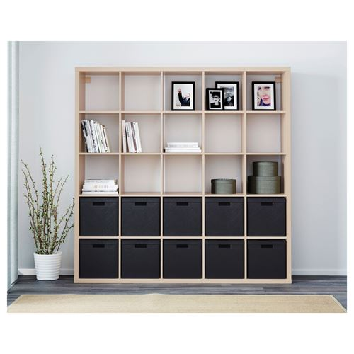 KALLAX,shelving unit with 25 compartments