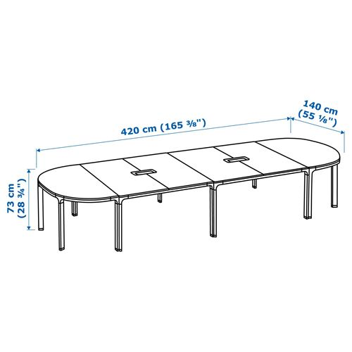 BEKANT,conference table