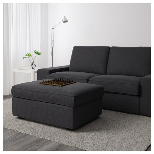 KIVIK,footstool with storage