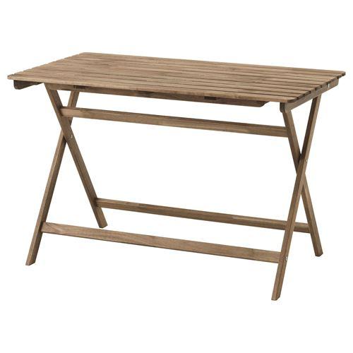 Ikea askholmen  ASKHOLMEN katlanabilir masa gri-kahverengi 112x62 cm | IKEA Yaz ...