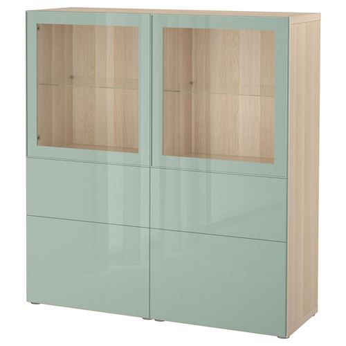 BESTA/SELSVIKEN,glass-door cabinet
