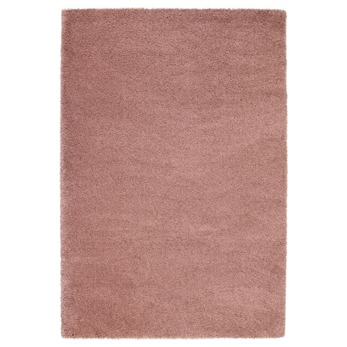 ADUM rug light brown-pink 133x195 cm | IKEA Living Room