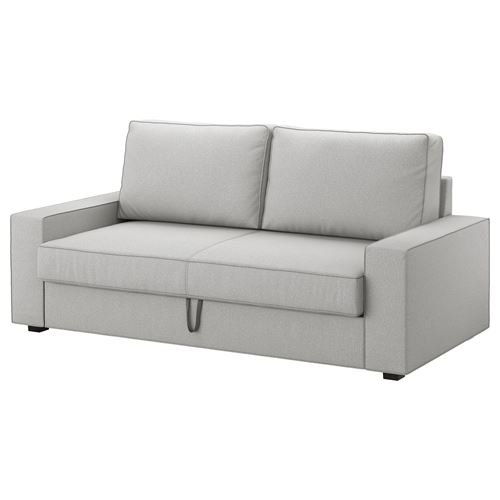 Vilasund marieby 3 seat sofa bed orrsta light grey ikea for Sofa 160 breit