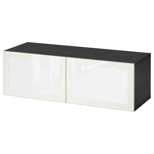 besta surte raf nitesi led kapakl venge beyaz 120x40x38 cm ikea tv dolap sistemleri. Black Bedroom Furniture Sets. Home Design Ideas