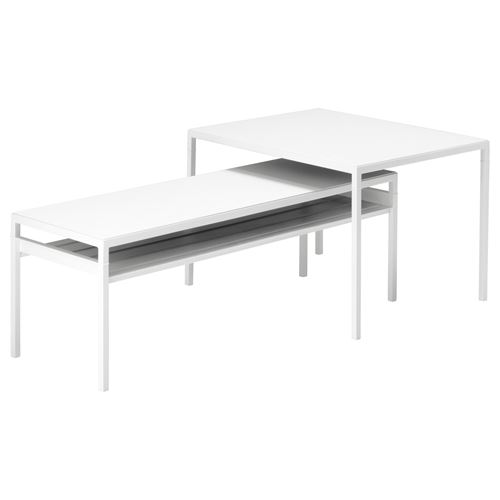 NYBODA,nest of tables with reversible tops