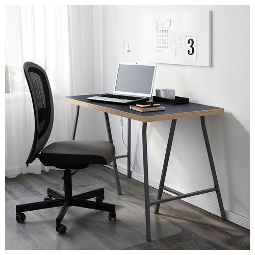 Ikea lerberg  LINNMON/LERBERG çalışma masası mavi-gri 120x60 cm | IKEA Çalışma ...