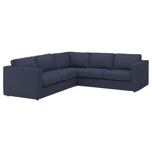 VIMLE,cover for corner sofa, 4-seat